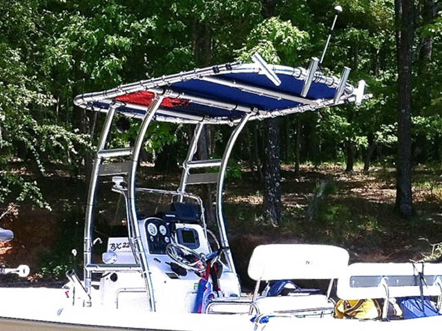T-Top for 2007 Sea Hunt BX22T center console boats 94805-5