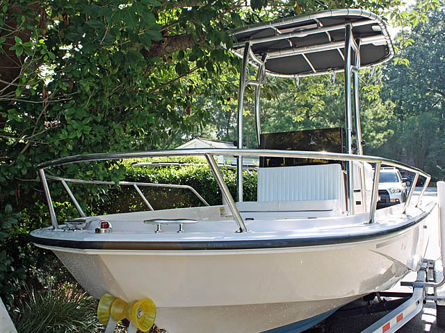 T-Top for 1992 Boston Whaler Outrage 19 ft center console boats 94809-4