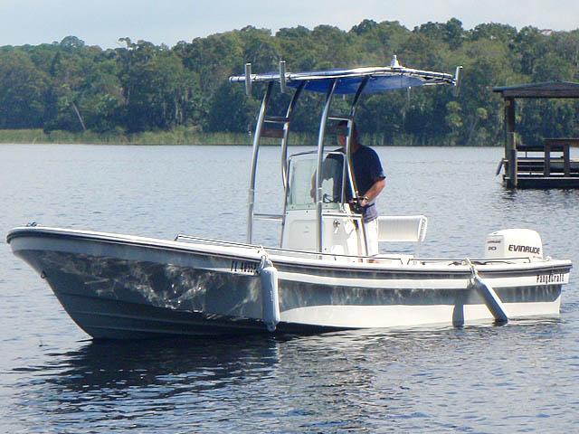 T-Top for 2011 Pangacraft  22' Panga center console boats 94827-2