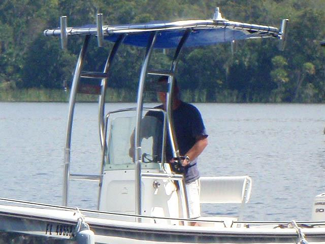 T-Top for 2011 Pangacraft  22' Panga center console boats 94827-3