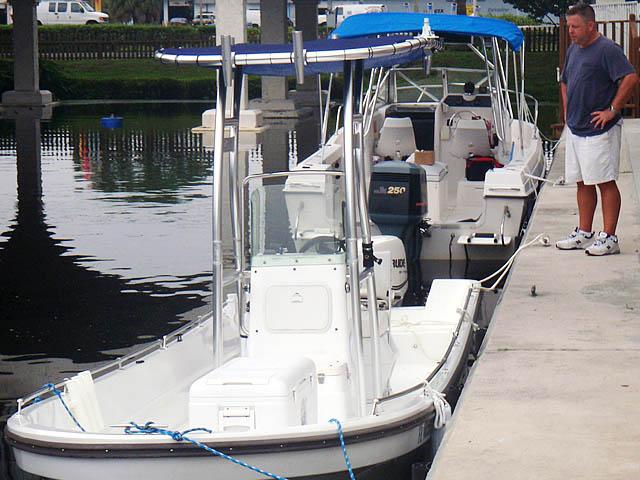 T-Top for 2011 Pangacraft  22' Panga center console boats 94827-8