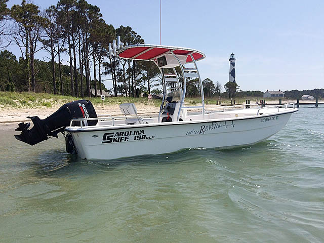 2008 Carolina skiff boat t-tops
