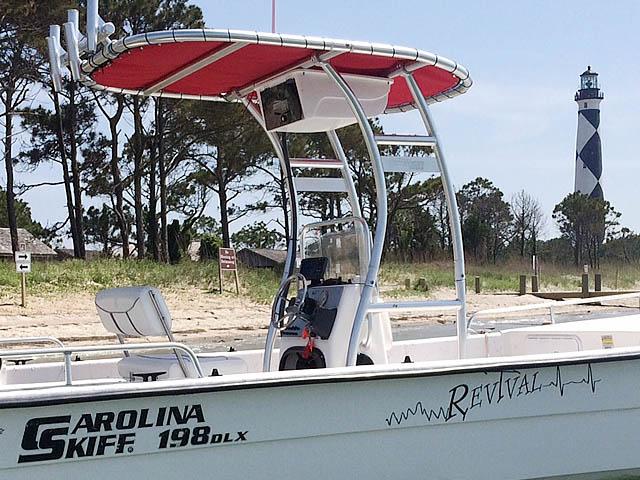 T-Top for 2008 Carolina skiff center console boats 94831-2