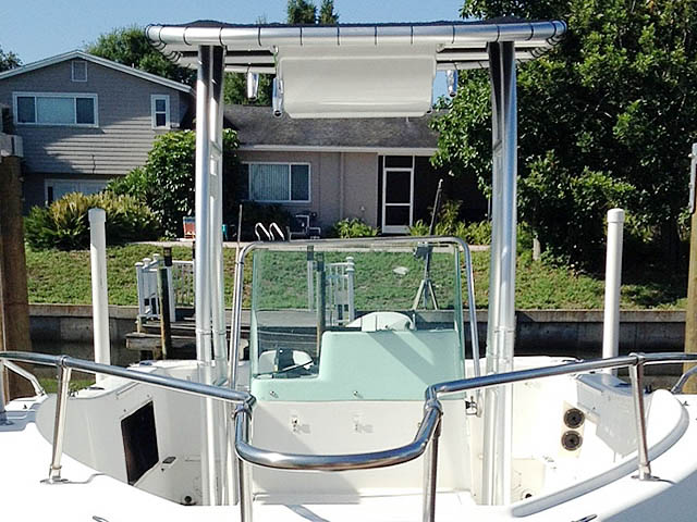 T-Top for 2000 Seaswirl Stripper 21'  center console boats 94923-4