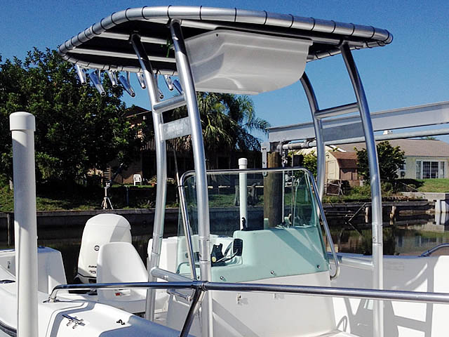 T-Top for 2000 Seaswirl Stripper 21'  center console boats 94923-5