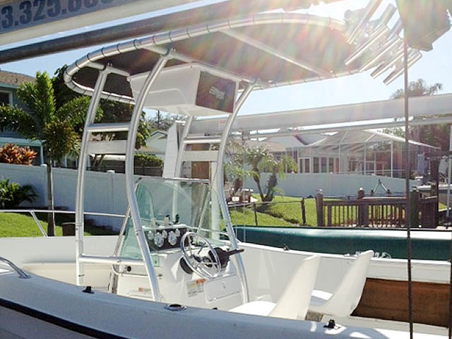 T-Top for 2000 Seaswirl Stripper 21'  center console boats 94923-8