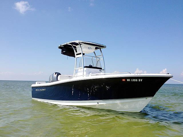 T-Top for 2014 Sea Hunt Triton 202 center console boats 95003-3
