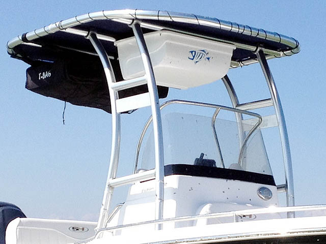 T-Top for 2014 Sea Hunt Triton 202 center console boats 95003-4