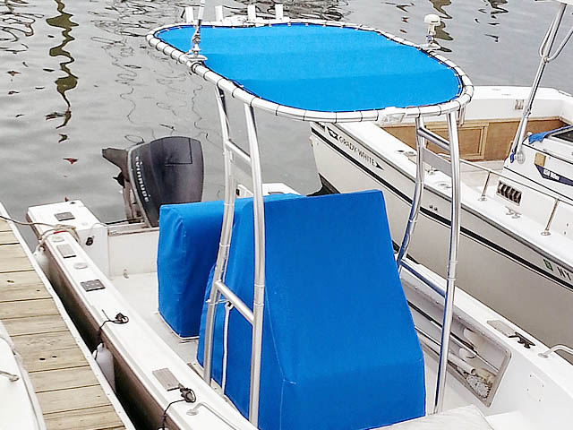 T-Top for 1988 Mako 20c center console boats 95022-2