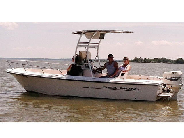1998, Sea Hunt, Triton 200 boat t-tops