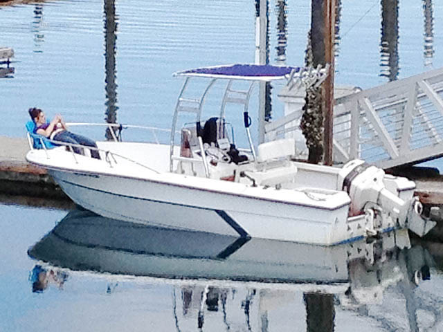 T-Top for 1988 Angler 21' Center Console center console boats 98675-2