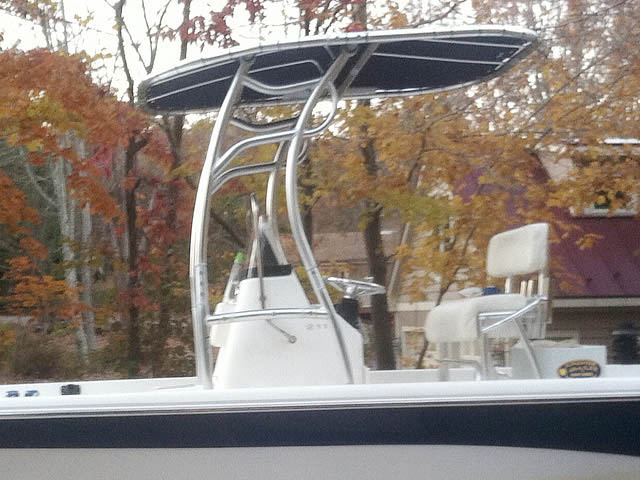 T-Top for Nauticstar, 2110 Baystar 2010 center console boats 98677-4