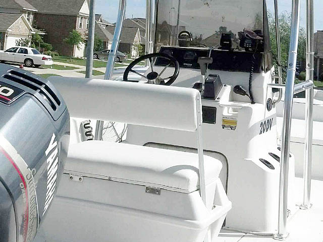 T-Top for 1998 Triton Bay Flight center console boats 98693-4
