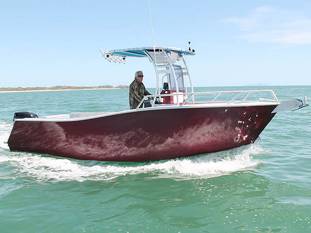 BBB Marine fishing boat t-top