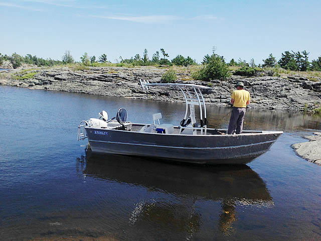 T-Top for 1984 Stanley 18 ft center console boats 99693-11