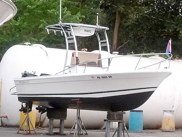 Styker Universal T-Top for 1977 Robalo 99710-3