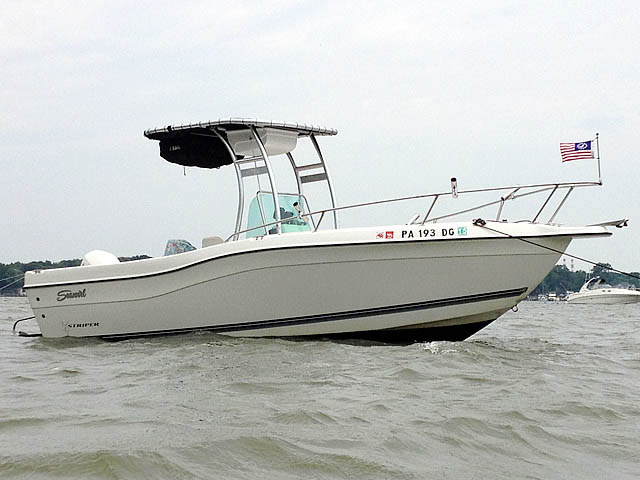 T-Top for 1998 Seaswirl Striper 21'CC center console boats 99806-4