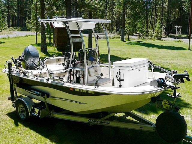 T-Top for 2013 Carolina Skiff DLV 178 center console boats 99850-10