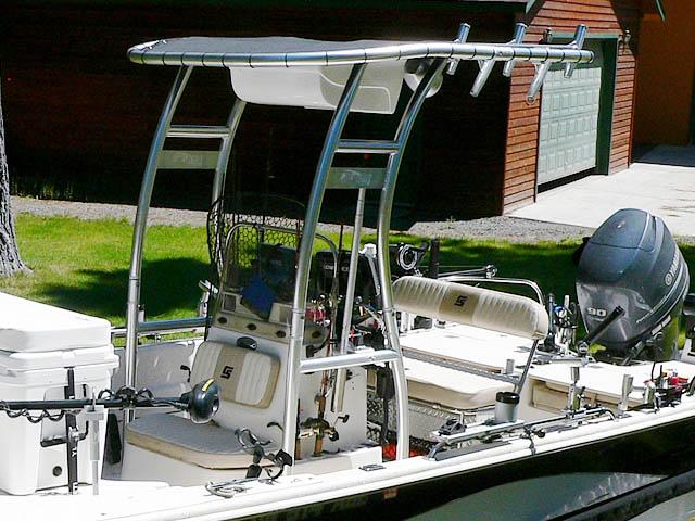 T-Top for 2013 Carolina Skiff DLV 178 center console boats 99850-2