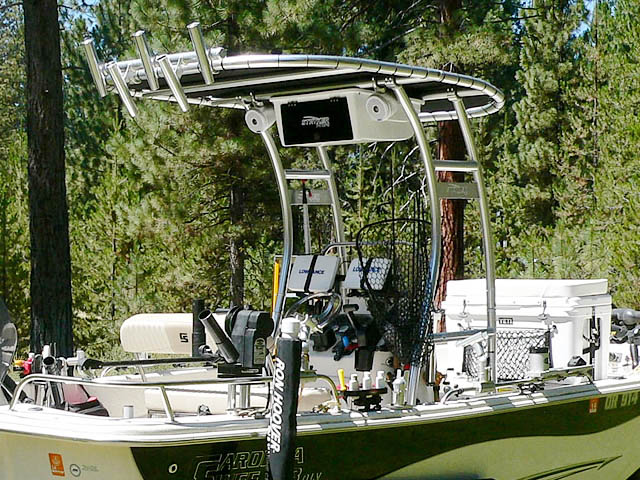 T-Top for 2013 Carolina Skiff DLV 178 center console boats 99850-4