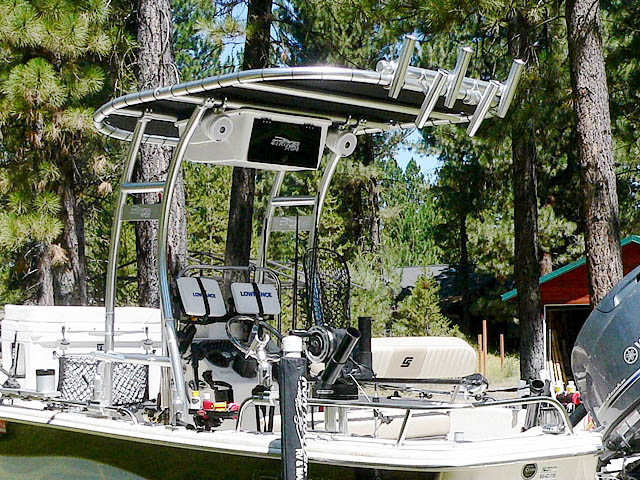 T-Top for 2013 Carolina Skiff DLV 178 center console boats 99850-6