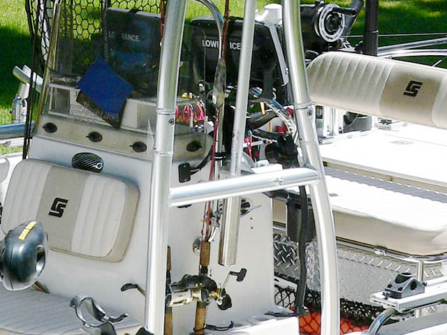 T-Top for 2013 Carolina Skiff DLV 178 center console boats 99850-8