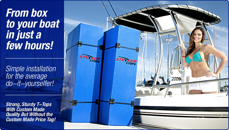 Install a boat ttop in hours