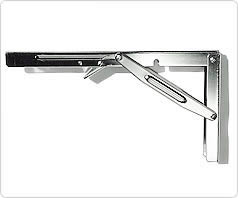 folding locking table bracket arm