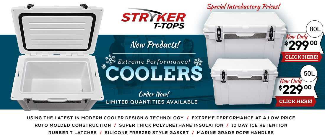 New Coolers by Stryker YETI Cooler Technology