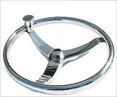 sport steering wheel for center console boats