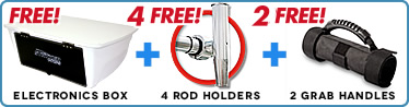 free 5 rod holder and ebox with ttop purchase