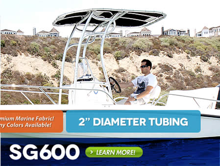 Ultimate folding ttop for center console fishing boats