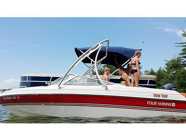 Wakeboard Tower for 1994 Four Winns 180 Horizon SE (19') installed on 07/31/2014