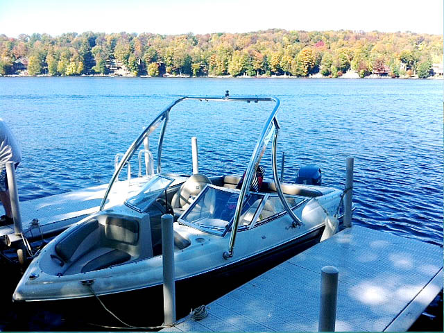 Wakeboard Tower for Four Winns installed on 09/30/2015