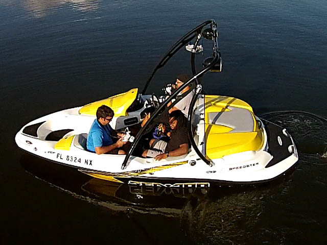 Wakeboard Tower for 2009 Speedster 150 installed on 04/10/2015