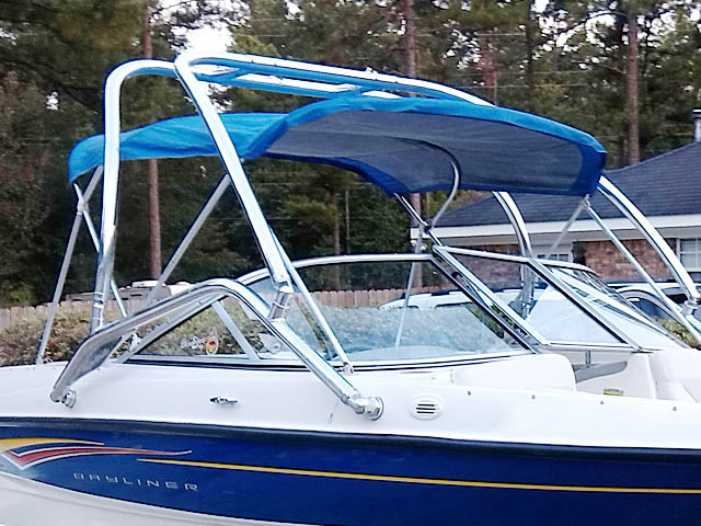 Airborne Tower wakeboard tower installed on 2007 Bayliner 185  boat