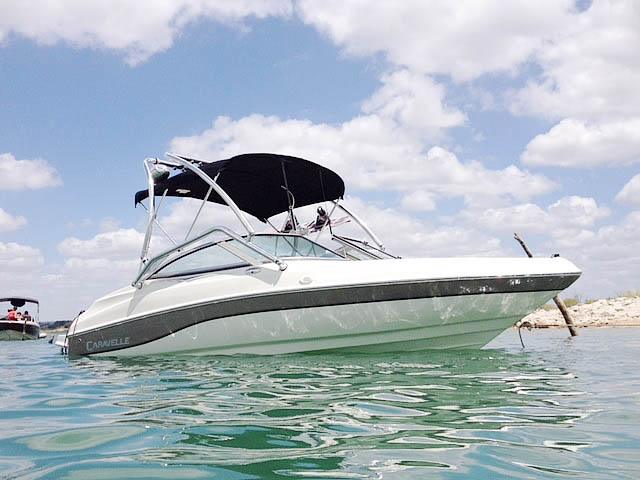 Wakeboard Tower for 2003 Caravelle 187 Bowrider installed on 07/29/2015