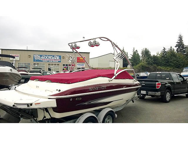 Wakeboard Tower for 2006 Glastron installed on 10/14/2015