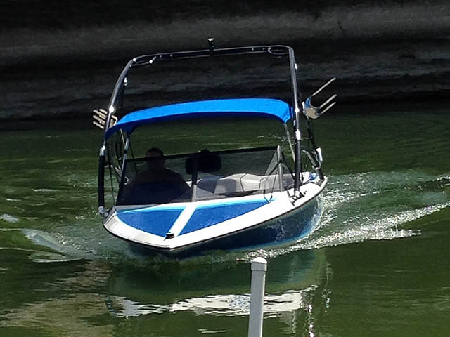 Wakeboard Tower for 1989 Ski Brendella installed on 09/08/2015