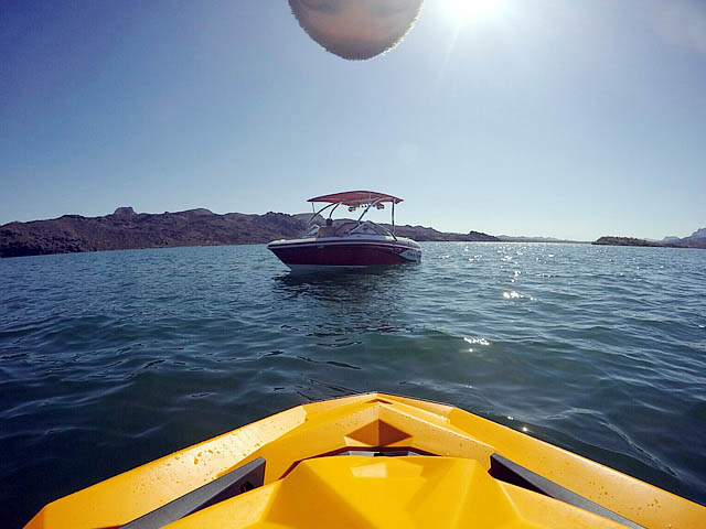 Airborne Tower with Eclipse Bimini wakeboard tower installed on 2014 Tahoe Q7i boat