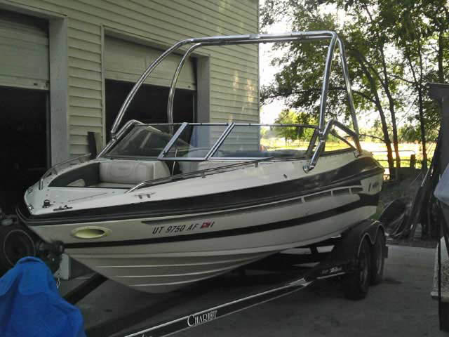 Wakeboard Tower for 1996 Mariah Z201 Talari installed on 08/29/2011
