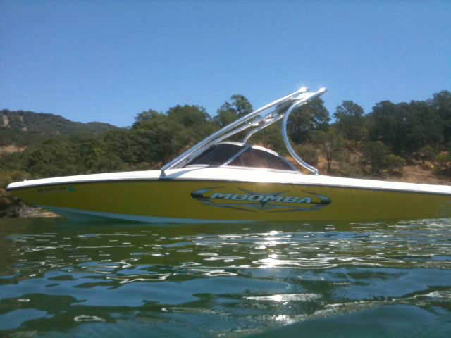 Wakeboard Tower for 2005 Moomba Outback installed on 08/31/2011