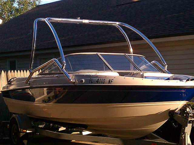 Wakeboard Tower for 2006 Bayliner 195 BR installed on 10/21/2011