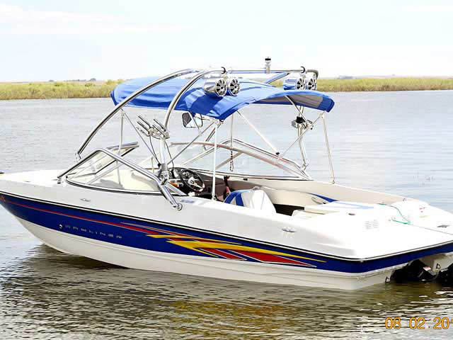 Wakeboard Tower for 2007 Bayliner installed on 05/15/2012