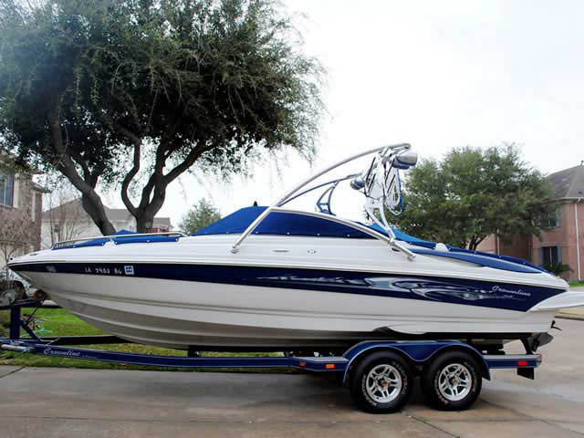 Wakeboard Tower for 2005 Crownline 225 GLS installed on 08/07/2012