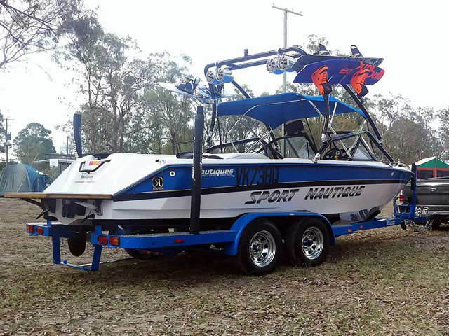 Wakeboard Tower for 1994 Sport Nautique installed on 08/07/2012