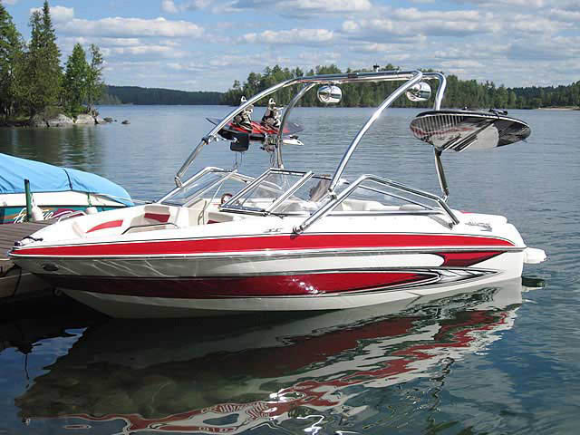 Wakeboard Tower for 2010 Glastron GT185 installed on 06/21/2013