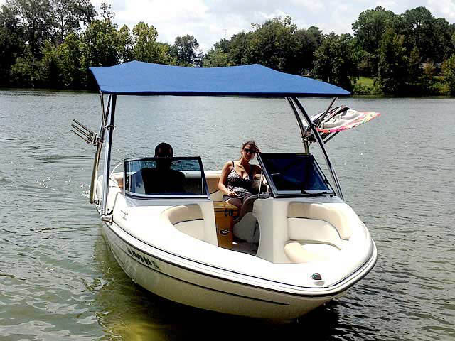 Wakeboard Tower for 05 Glastron MX 175 installed on 09/14/2012