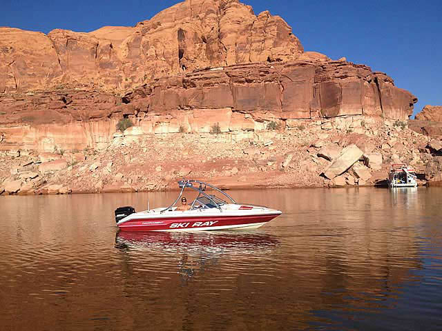 Wakeboard Tower for 1993 Sea Ray Ski Rat installed on 10/14/2012