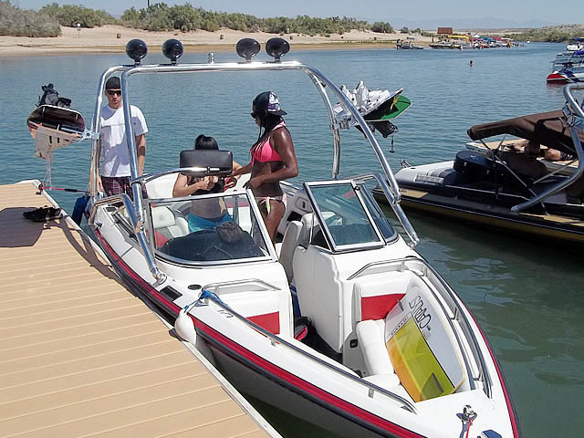 Wakeboard Tower for 1992 Mastercraft Maristar installed on 10/01/2015
